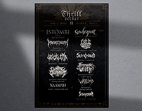 Thrill Seeker Metal Fest — Event Identity