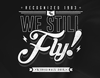 We Still Fly - D'Originals Tshirt Design for 2015