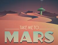 Mock Retro Sci-Fi Poster