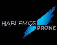 Hablemos Drone Branding
