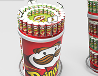 Exhibidor Pringles - Copa America