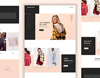 Urban Outfitters: Single page exploration