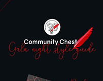 Community Chest Gala Night Style Guide