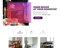 Zimply - Landing page