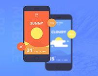 Fun Weather: A free landing page for your apps