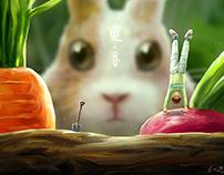 Rabbit & Radish