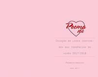 Criação de looks verão 2017/2018 para Poema Hit