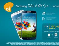 Vídeo de lançamento do Galaxy S4 para as lojas da Oi