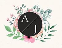 Adri and Josh Wedding Invitation