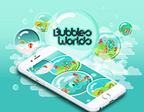 Mobile Game Design - Bubbles Worlds