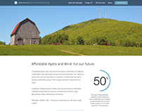 Massachusetts Clean Electricity Website Design