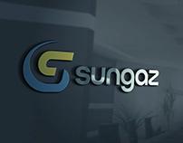 SUNGAZ - Gas Station Logo Branding