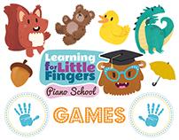 Learning For Little Fingers Games 2015