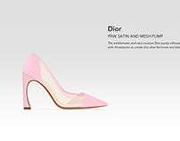 New Design for Dior Pink Pump