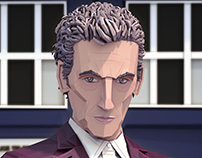 12th Doctor Lowpoly Portrait