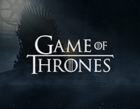"""Site in """"Game of thrones"""" style"""