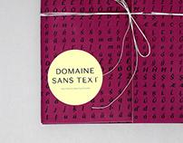 Domaine Sans Type Specimen