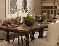 Salon &dining room