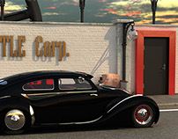 VW Beetle Custom Black Edition
