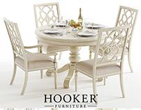 3D Model - Hooker / Sandcastle 48 Dining set