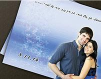 Wedding invitation - Einat & Or
