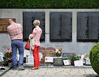 Dark tourism? / Oradour-sur-Glane / cemetery