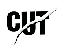 Cut - Designed Word