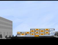 Urban Design - A Hospital Extension & Medical School