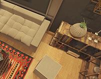Industrial Look Office Design