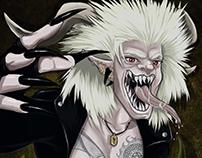 SKRIKER Character Illustration