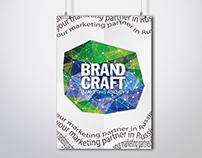 Identity for marketing agency Brandcraft