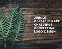 Logo Design Concepts - Jungle Obstacle Race Challenge