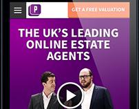 Purplebricks.com website redesign