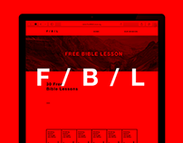 Free Bible Lesson Website Design