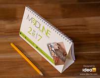 Calendar designed by : idea-ho.com
