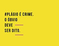 CAMPANHA CONTRA O PLÁGIO