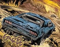 Freeway Fighter Comic