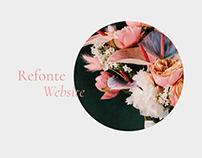 UI design • Mariette • Artisan Fleuriste