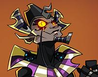 Nyarlathotep - Character Design