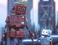 Robot Padre, Robot Hijo