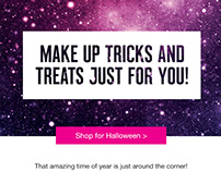 Superdrug Email marketing - Halloween 2018