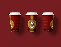 YBR Cake | Coffee Cup Design