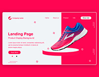 Shoes Website Landing Page