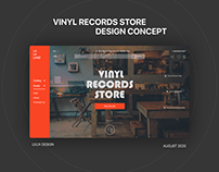 VINYL RECORDS STORE/ E-COMMERCE