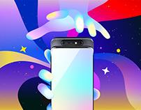 Samsung Galaxy Concept Illustration