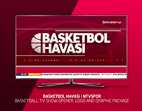 BASKETBOL HAVASI | TV SHOW OPENER, LOGO AND GRAPHICS
