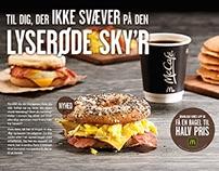 McDonald's breakfast tray