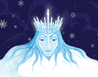 The Snow Queen - Book Cover