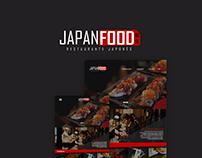 Japan Food UI Design