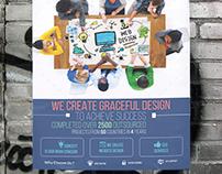 Web Development Flyer